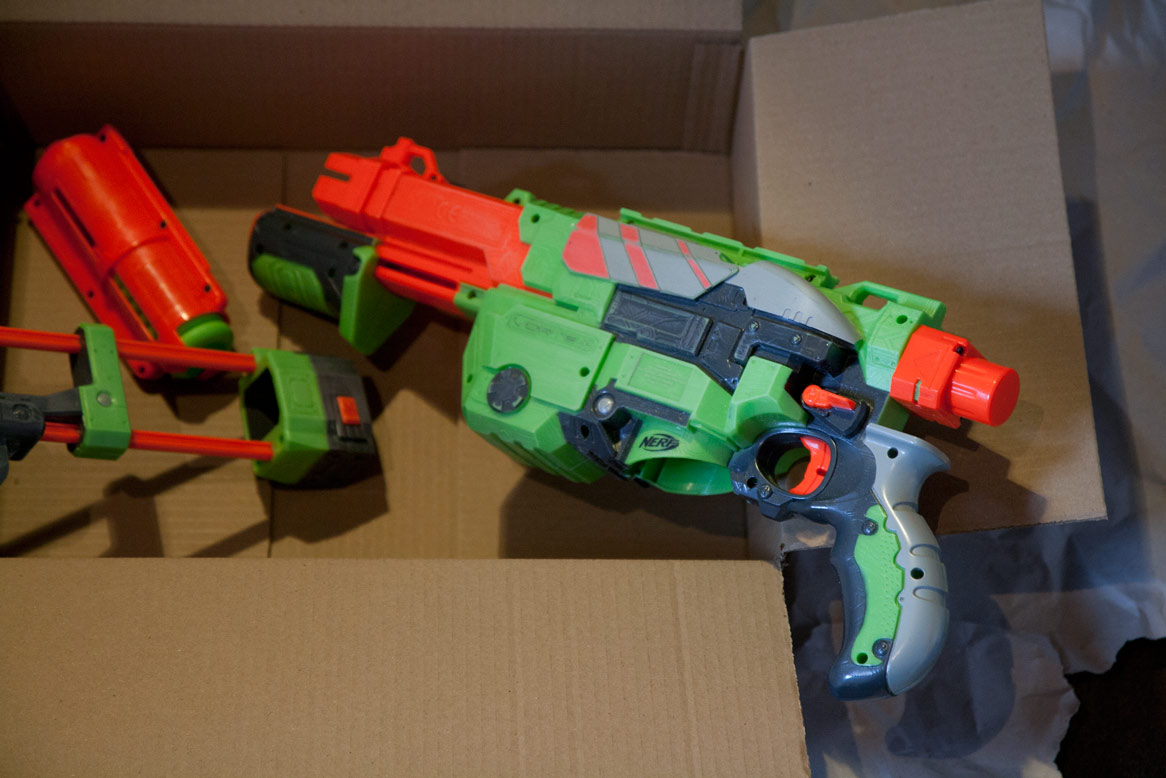 Borderlands Nerf Bandit Gun for Cosplay - Made By Abe